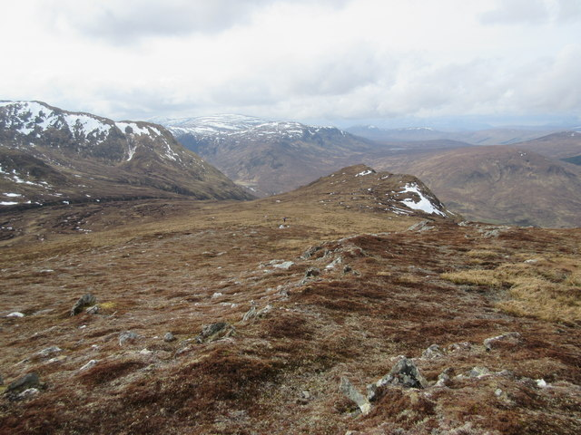 West side of Meall Buidhe