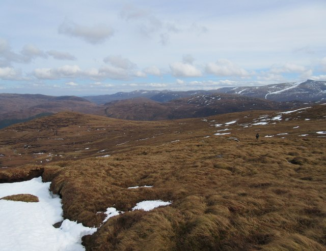 Moorland to east of Meall Buidhe