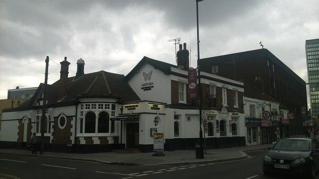 Apatura restaurant (former pub), South End, Croydon