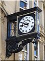 NZ2464 : Clock on Reid & Sons, 23-27 Blackett Street, NE1 by Mike Quinn