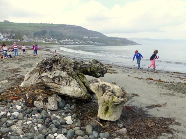 The beach at Glenarm