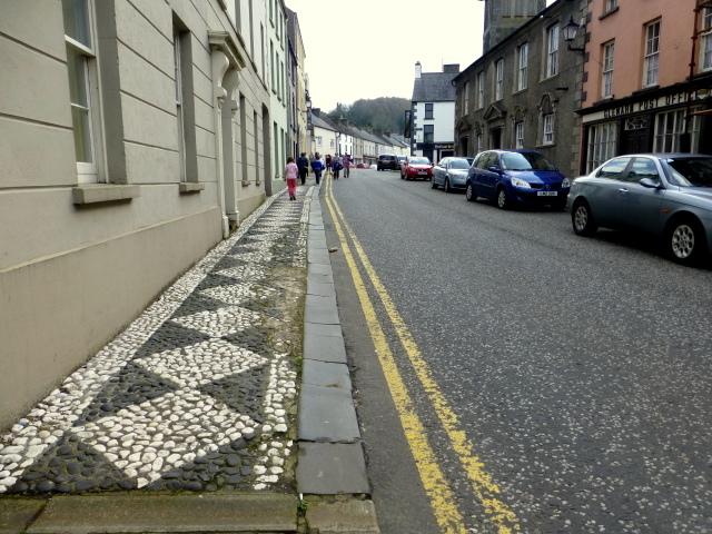 Inlaid footpath, Glenarm