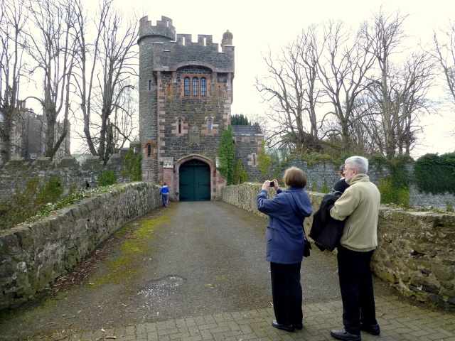Picturing The Barbican of Glenarm Castle