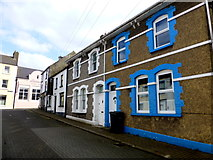 D3115 : Houses, Glenarm by Kenneth  Allen