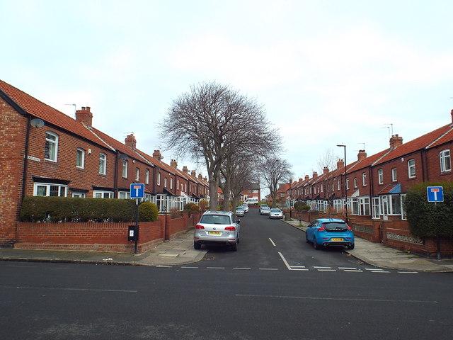 Wingrove Avenue, Roker, near Sunderland