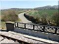 SP0635 : Minor road from rebuilt railway bridge by Chris Allen