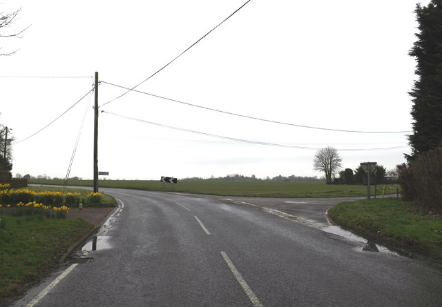 B1113 Finningham Road, Ford's Green