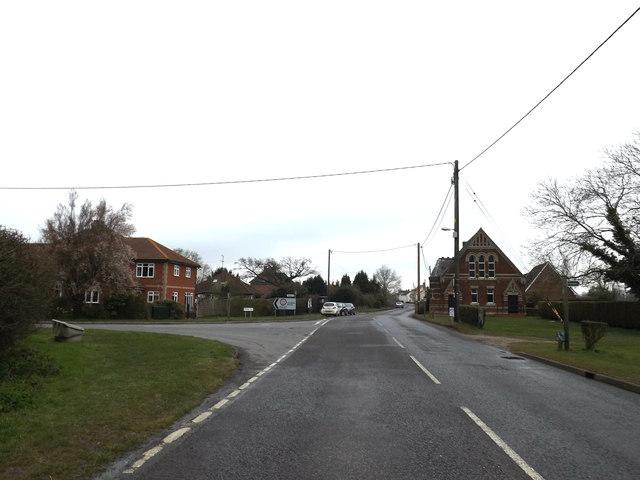 B1113 Broad Road, Bacton