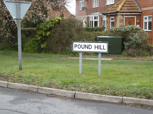 Pound Hill sign