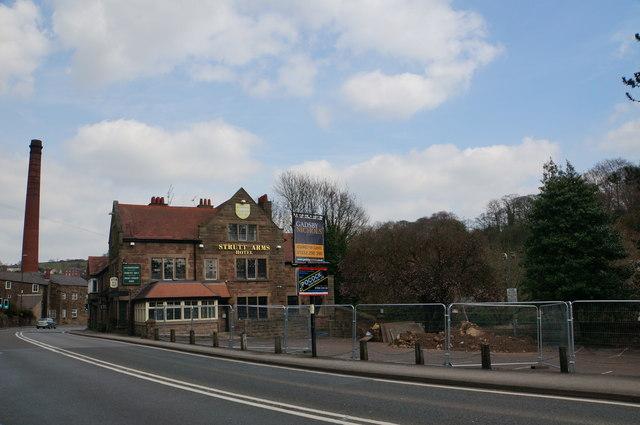 Strutt Arms, Milford