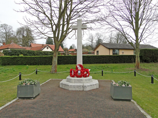 The War Memorial at Scole