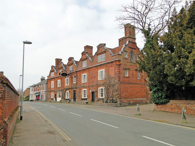 The Scole Inn, established 1655 and still going strong by Adrian S Pye