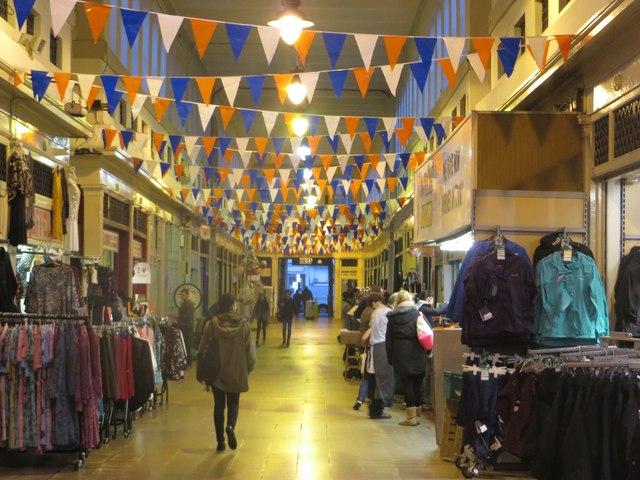 Inside the Grainger Market, Newcastle upon Tyne
