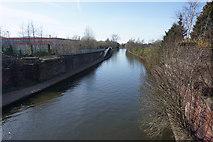 SJ7797 : The Bridgewater Canal at Trafford Park by Bill Boaden