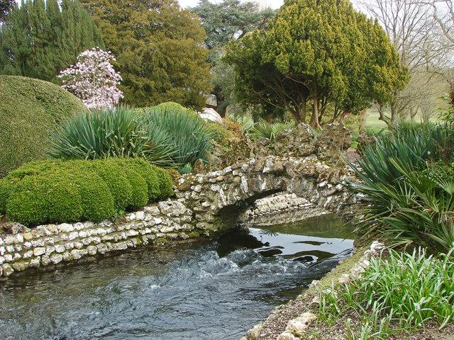 Water garden, West Dean