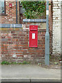 SK6928 : Hickling (former post office) postbox, ref LE14 65 by Alan Murray-Rust
