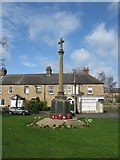 NZ1164 : Wylam War Memorial by G Laird