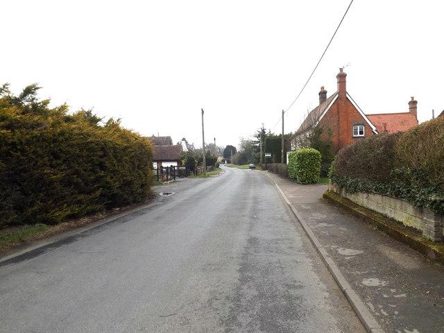Wickham Road, Finningham