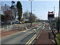 NZ1970 : Level crossing near Callerton Parkway Metro Station by JThomas