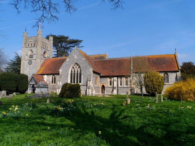 St Mary's church, Hambleden