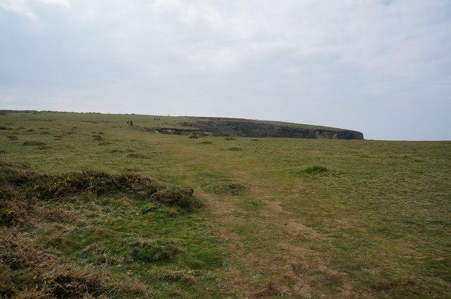 South West coast path towards Park Head