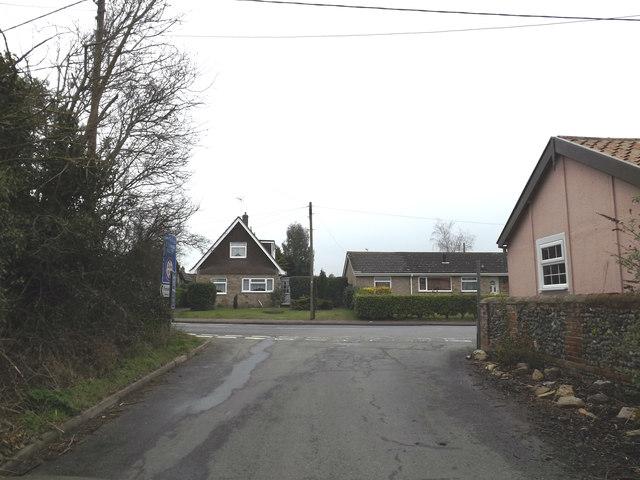 Turkey Hall Lane, Bacton