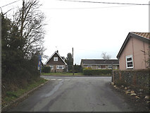 TM0567 : Turkey Hall Lane, Bacton by Adrian Cable