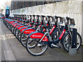 TQ2476 : Santander cycles, Beaconsfield Walk by Oast House Archive