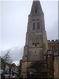 SP7387 : St Dionysius church at the centre of town by Dave Thompson