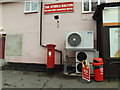 TM0466 : Post Office Wyverstone Road George V Postbox by Adrian Cable