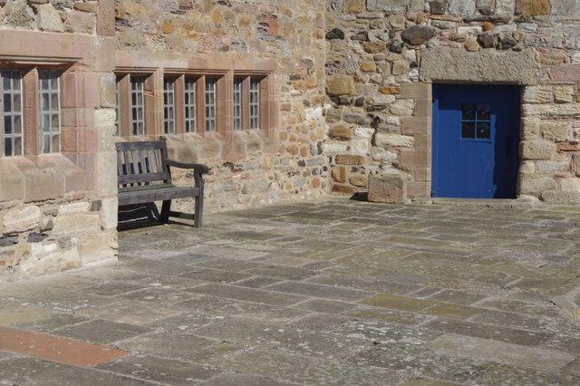 The Upper Battery, Lindisfarne Castle