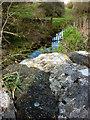 SD4877 : Rivet benchmark, Leighton Beck Bridge by Karl and Ali