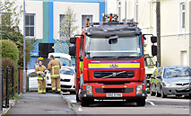 J3674 : Fire appliance, Belfast (April 2015) by Albert Bridge