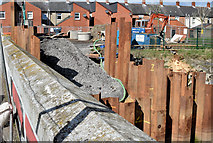 J3674 : Connswater works, Mersey Street bridge, Belfast (April 2015) by Albert Bridge