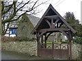 SM8821 : Lych Gate, St Mary's Church, Roch by Robin Drayton