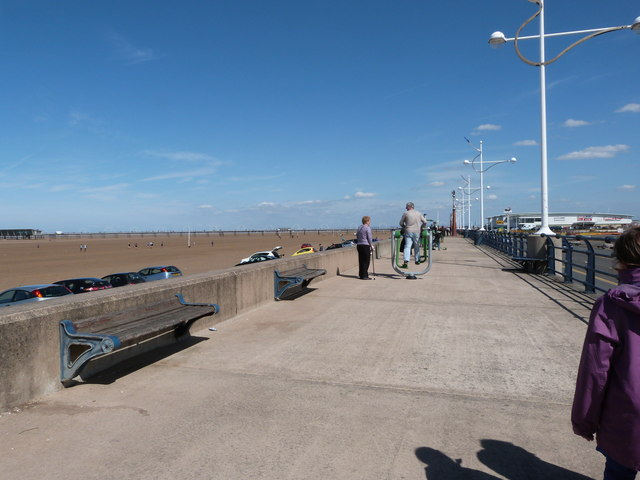 Southport seafront