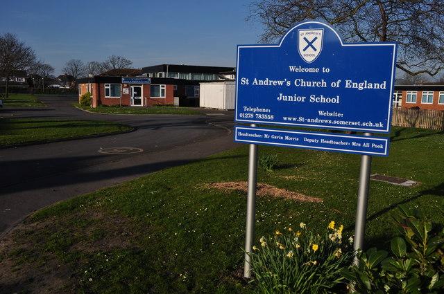 Burnham-on-Sea : St Andrew's Church of England Junior School