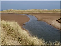 NU0545 : North Low and Cheswick Sands by Oliver Dixon