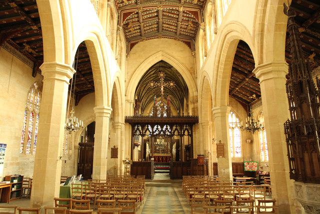St.Helen's nave