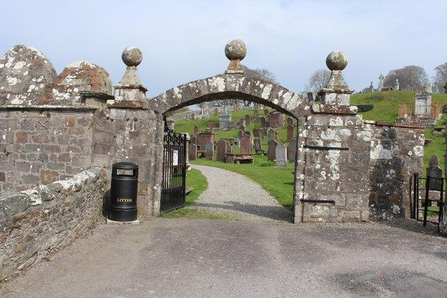 Kirkyard Gate, Kirkcudbright