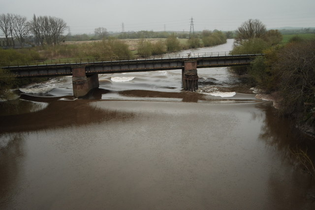 The Severn Bore at Over