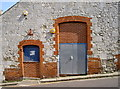 SY6878 : A door within a door by Neil Owen