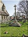TG5200 : War Memorial in Hopton St. Margaret's churchyard by Adrian S Pye