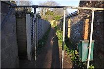 ST3050 : Burnham-on-Sea : Footpath by Lewis Clarke