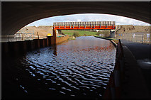 SD4764 : Bridge construction, Lancaster Canal by Ian Taylor