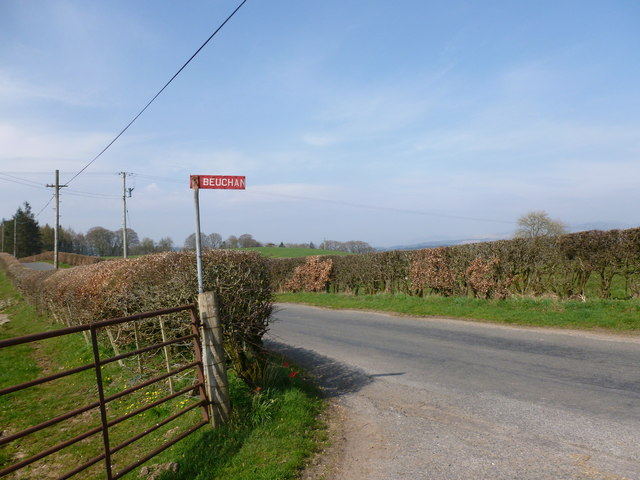 Beuchan road-end