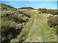SE0226 : Quarry track, seen from Hebden Royd FP21a by Humphrey Bolton