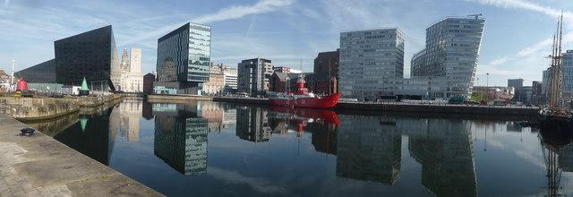 Canning Dock Panorama, Liverpool