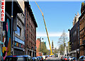 J3374 : Crane, Donegall Street, Belfast (April 2015) by Albert Bridge