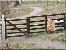 NS2471 : Greenock Cut nature trail by Thomas Nugent